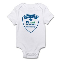 Montreal Police Infant Bodysuit