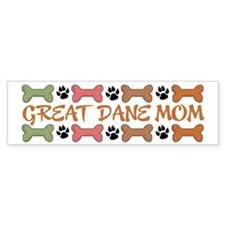 Great Dane Mom Bumper Bumper Sticker