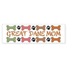 Great Dane Mom Bumper Sticker (10 pk)