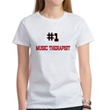 Number 1 MUSIC THERAPIST Tee