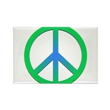Peace! Rectangle Magnet (100 pack)