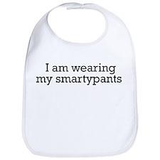 Wearing my Smartypants Bib