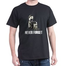 Never Forget Antique Cameras T-Shirt