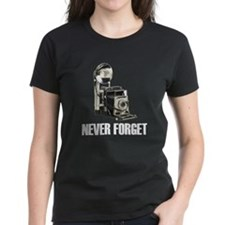 Never Forget Antique Cameras Tee