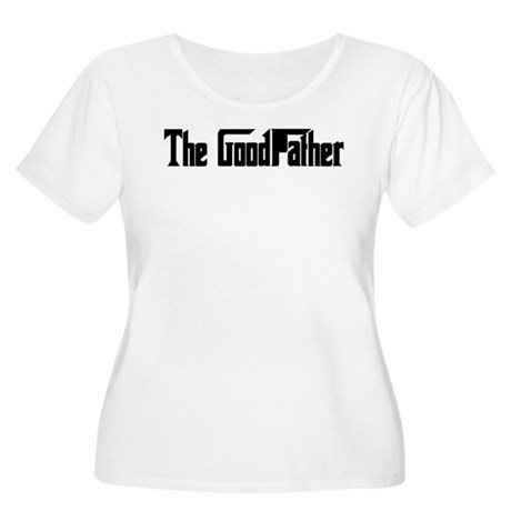 The GoodFather. Women's Plus Size Scoop Neck T-Shi