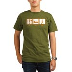 Eat Sleep Yoga Organic Men's T-Shirt (dark)