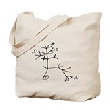Darwin Notebook - &amp;quot;I think&amp;quot; Tote Bag