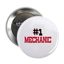 "Number 1 MECHANIC 2.25"" Button (10 pack)"