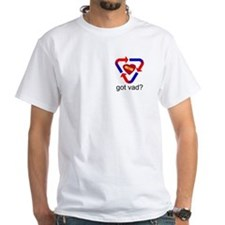got VAD? White T-shirt
