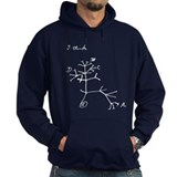 Darwin Notebook - &quot;I think&quot;  Hoodie