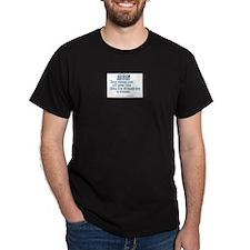 sweep Black T-Shirt