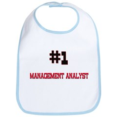 Number 1 MANAGEMENT ANALYST Bib