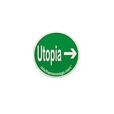Utopia Mini Button (10 pack)