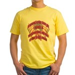 Patriot's Protection T-Shirts Yellow T-Shirt