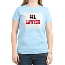 Number 1 LAWYER T-Shirt