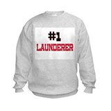 Number 1 LAUNDERER Sweatshirt