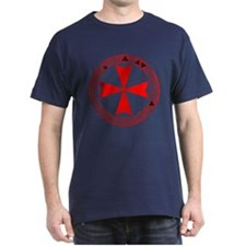 KNIGHTS TEMPLAR Black T-Shirt