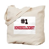 Number 1 KINESIOLOGIST Tote Bag