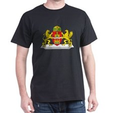 Budapest Coat Of Arms Black T-Shirt