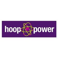 Hoop Power Bumper Bumper Sticker