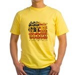 Magenta Jesus Loves Me Organic Kids T-Shirt (dark)