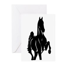 Cute American saddlebred Greeting Cards (Pk of 10)