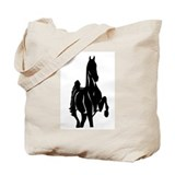 Funny Racking horse Tote Bag