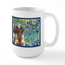 Sloughi in Irises Mug