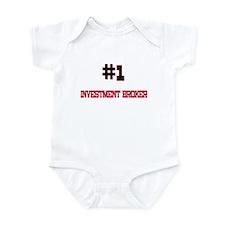 Number 1 INVESTMENT BROKER Infant Bodysuit