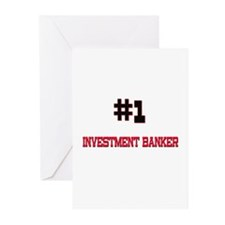 Number 1 INVESTMENT BANKER Greeting Cards (Pk of 1