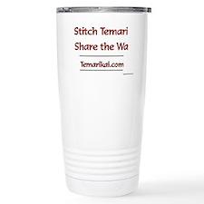 Stitch Temari, Share Th Travel Mug