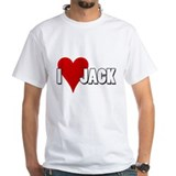 I Heart (Love) Jack Shirt