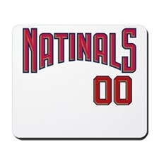 Unique Natinals Mousepad