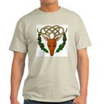 Celtic Stag Ash Grey T-Shirt