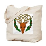 Celtic Stag Tote Bag