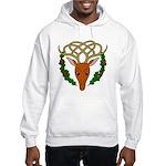 Celtic Stag Hooded Sweatshirt
