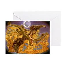 Cute Pagan fire Greeting Card
