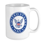 US Navy Large Mug
