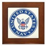 US Navy Framed Tile