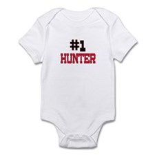 Number 1 HUNTER Infant Bodysuit