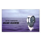 Ocean Machine Rectangle Bumper Stickers