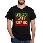 ATLAS WILL SHRUG Dark T-Shirt
