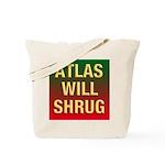 ATLAS WILL SHRUG / Who Is John Galt Tote Bag