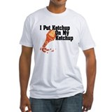 Fitted Ketchup White T-Shirt