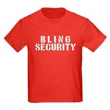 Kids Ring Bearer T-Shirt in Black, Blue and Red