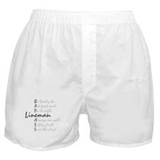 Bad ass Lineman Boxer Shorts