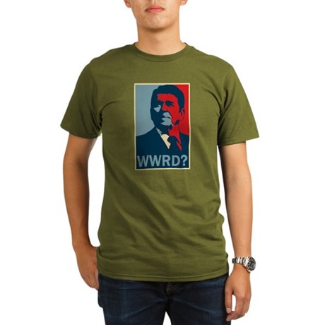 WWRD? Organic Mens Dark T-Shirt