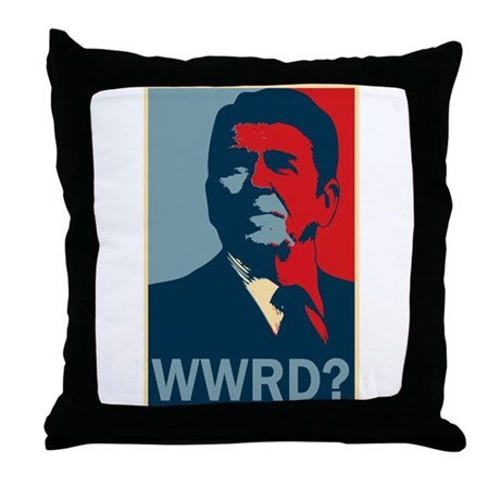 WWRD? Throw Pillow
