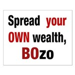 16x20 Spread your OWN wealth poster