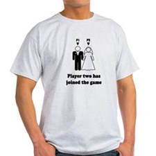 player2 black T-Shirt